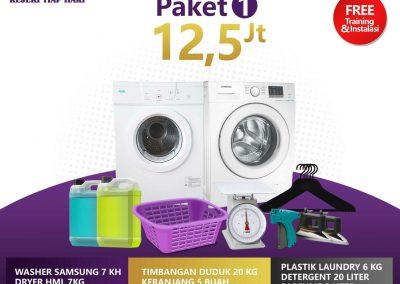 paket bisnis usaha laundry kiloan murah 1 12.5