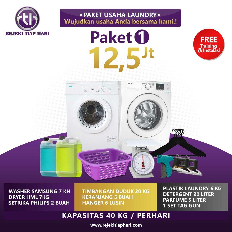 Paket Bisnis Usaha Laundry Kiloan Murah