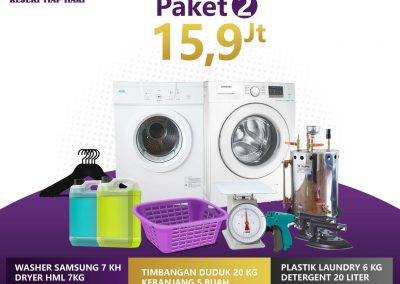 paket bisnis usaha laundry kiloan murah 2 15.9