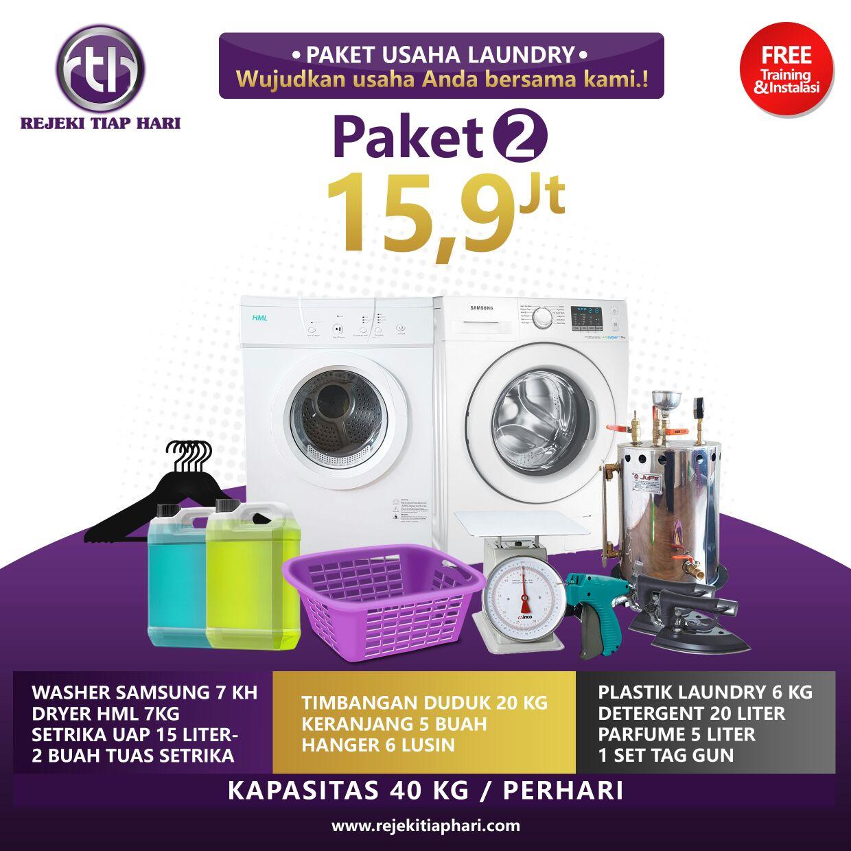 paket bisnis usaha laundry kiloan murah atiqah