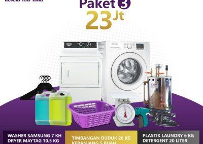 paket bisnis usaha laundry kiloan murah 3 23