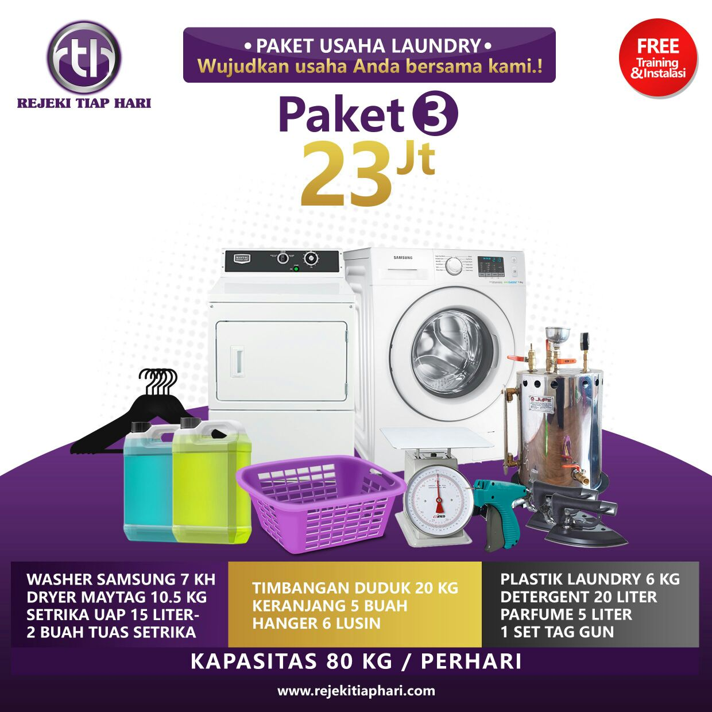 paket bisnis usaha laundry kiloan murah cynthia bella