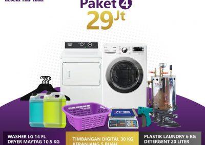 paket bisnis usaha laundry kiloan murah 4 29