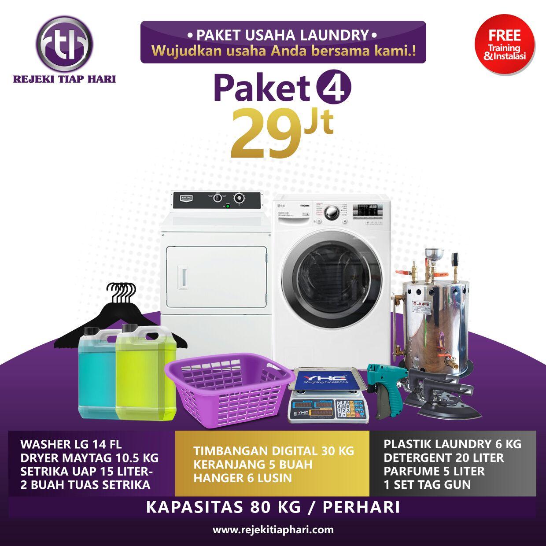 Paket bisnis usaha laundry kiloan murah fatin